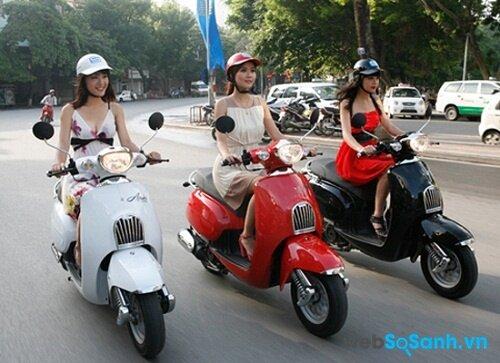 Xe tay ga thời trang là sự lựa chọn của các bạn trẻ ( ảnh internet)