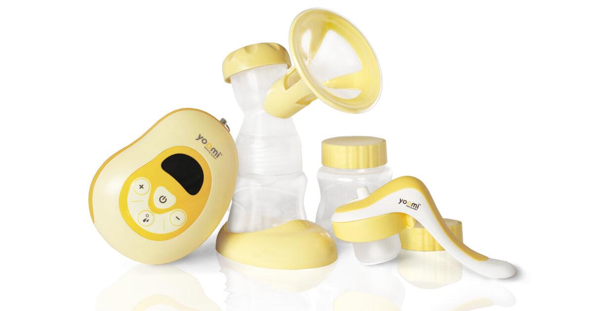 Review máy hút sữa điện Yoomi 3 trong 1 - tiện cho mẹ lợi cho bé
