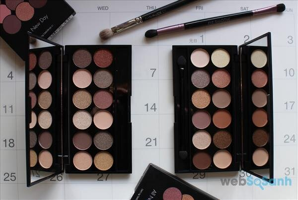 Review bảng mắt giá rẻ SLEEK I-DIVINE PALETTES - A new day & All Night long
