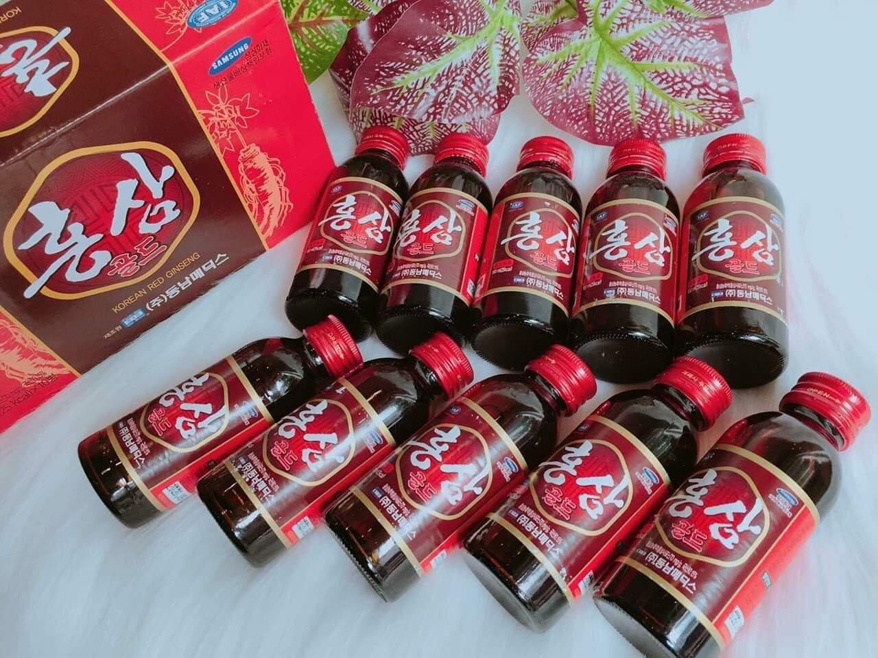 Nước hồng sâm có tác dụng hạ đường huyết có hiệu quả giảm bệnh đái tháo đường