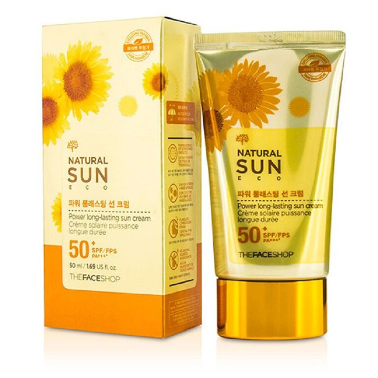 Kem chống nắng The Face Shop Nature Sun Eco Super Perfect Suncream