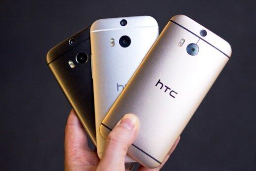 HTC One M8 (Giá tham khảo: 8 triệu)