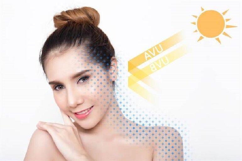 Tác dụng của kem chống nắng dành cho da mụn