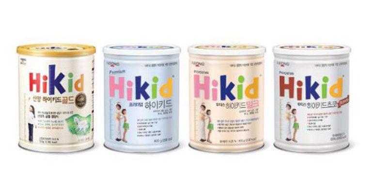 Sữa Hikid Hàn Quốc có mấy loại ? Bé nhà bạn sẽ phù hợp với loại Hikid tăng chiều cao nào ?