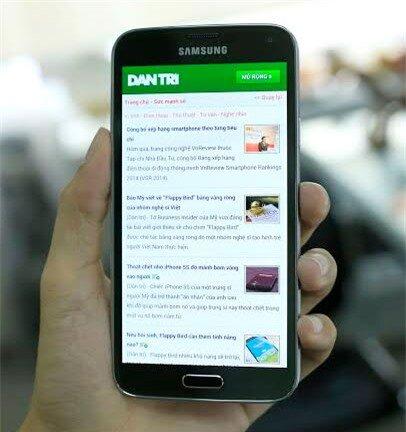 Samsung Galaxy S5 là smartphone quan trọng nhất trong năm nay của Samsung.