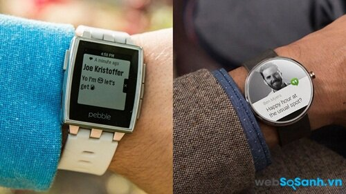 Pebble hay Android Wear