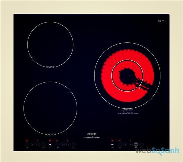 bếp điện từ 3 vùng nấu Munchen QA 300I có tốt không
