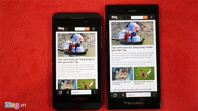 Nên chọn BlackBerry Z3 hay Z10