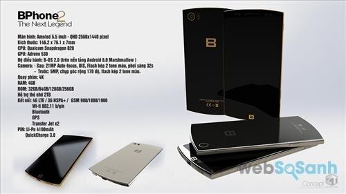điện thoại bphone 2