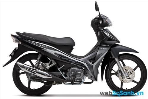 Thiết kế của Honda Blade khá sắc sảo