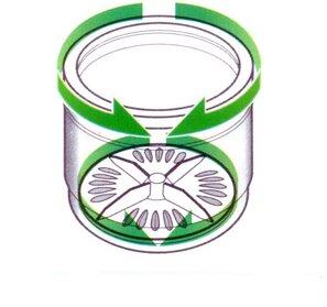 Máy giặt lồng đứng giặt quần áo chủ yếu dựa vào chuyển động xoáy của dòng nước