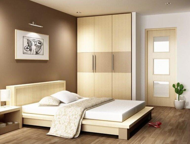 Đặc trưng thiết kế nội thất phòng ngủ hiện đại đơn giản