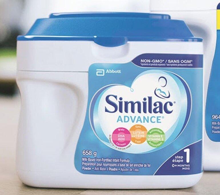 Sữa Similac có làm cho bé bị táo bón?