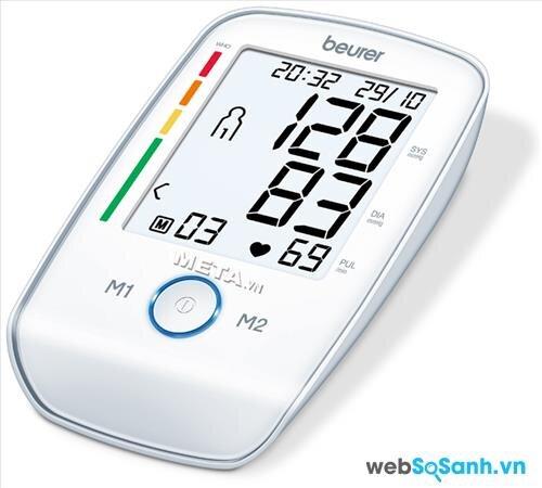 Nên chọn máy đo huyết áp có mặt hiển thị rõ ràng