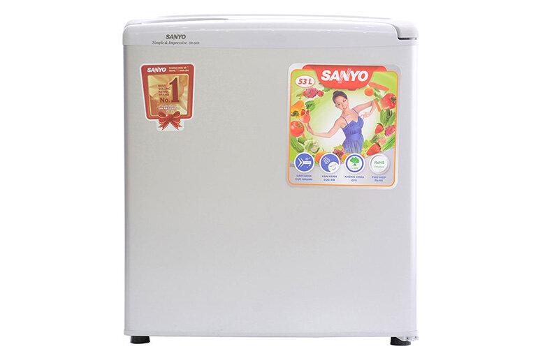Tủ lạnh dưới 2 triệu với dung tích 50l của Sanyo.