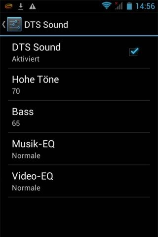 Cải thiện âm thanh cùng công nghệ DTS