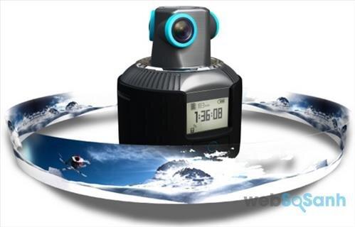 Camera hành trình có đồng hồ điều chỉnh từ xa