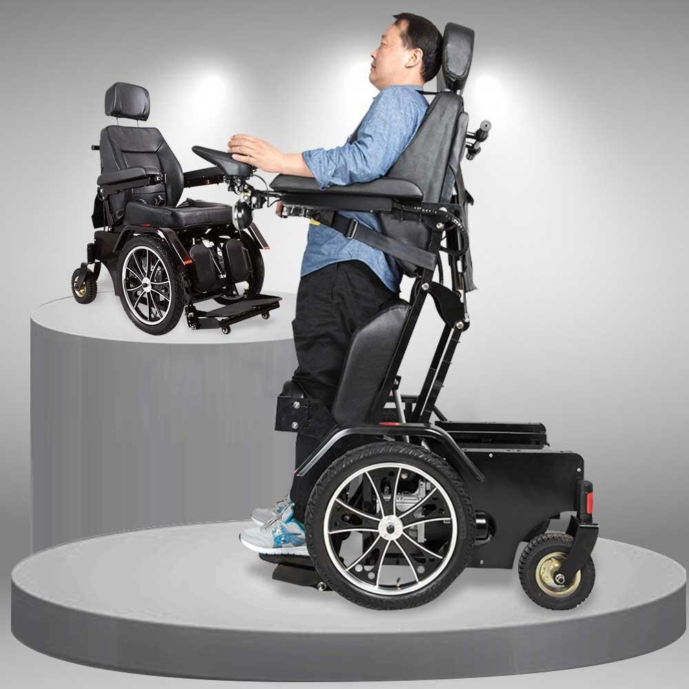 Hiện nay trên thị trường có rất nhiều dòng sản phẩm xe lăn cao cấp đa chức năng