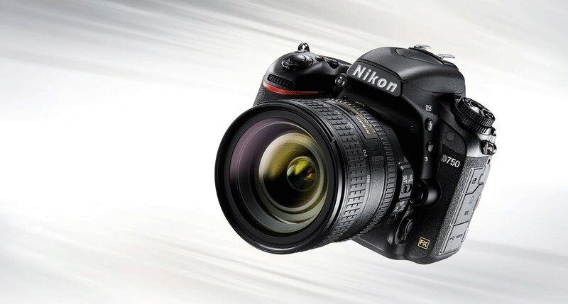 Alt + Caption: Thiết kế của máy ảnh Nikon D750