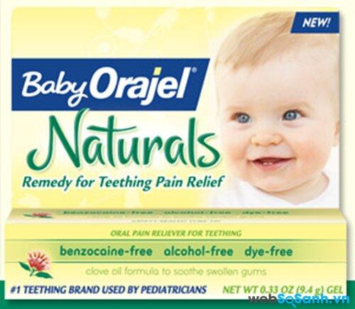 Thuốc giảm đau Baby Orajel Naturals
