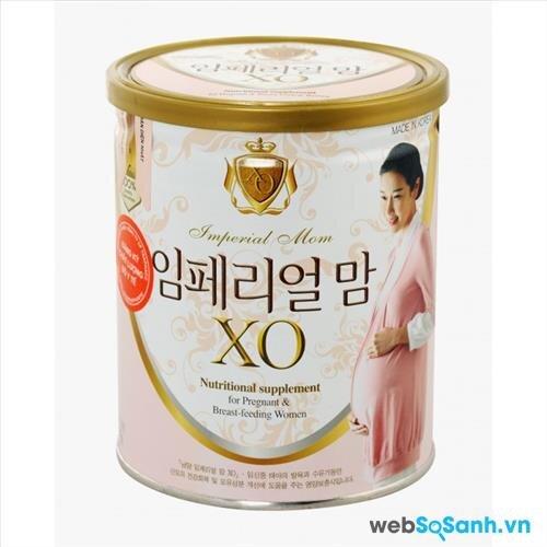 Sữa bột XO Mom hộp thiếc 400g có giá bán từ