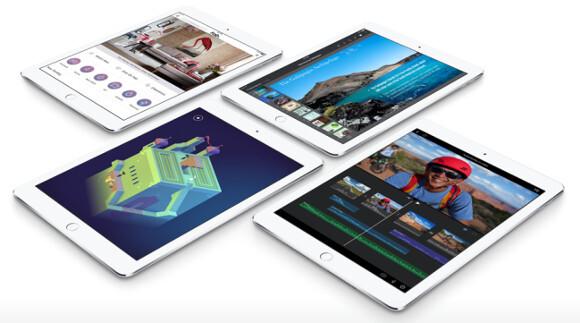 Hình ảnh những chiếc máy tính bảng iPad.