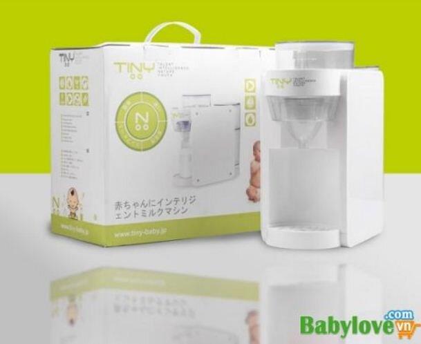 Máy pha sữa Tiny Baby Formula Japan - một chạm cho bình sữa hoàn hảo