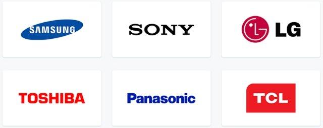 Các thương hiệu tivi nổi tiếng trên thị trường