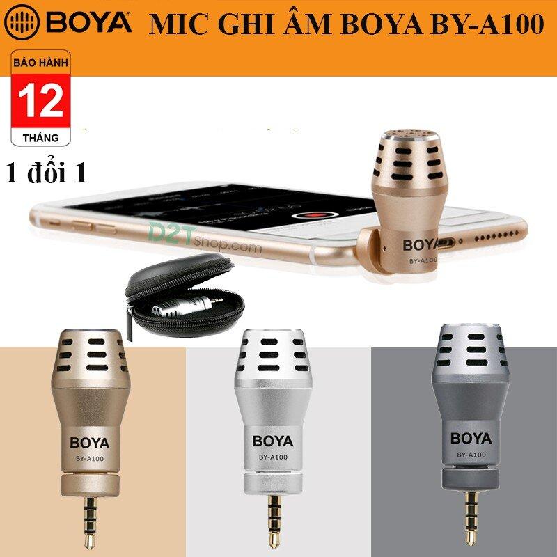 Mic thu âm cho điện thoại iPhone BOYA BY-A100