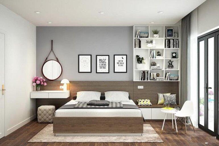 Nguyên tắc thiết kế nội thất phòng ngủ hiện đại đơn giản