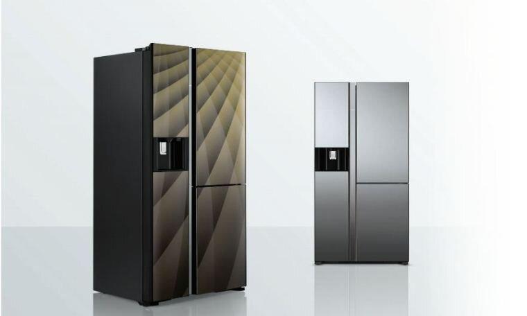 Tủ lạnh Hitachi 3 cánh có thiết kế sang trọng