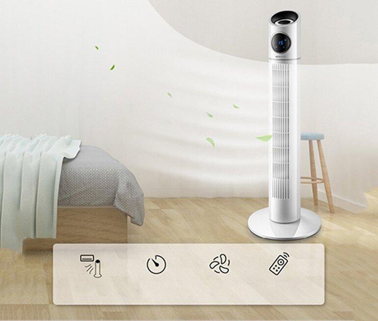 tư vấn quạt cho phòng ngủ dưới 15 m2