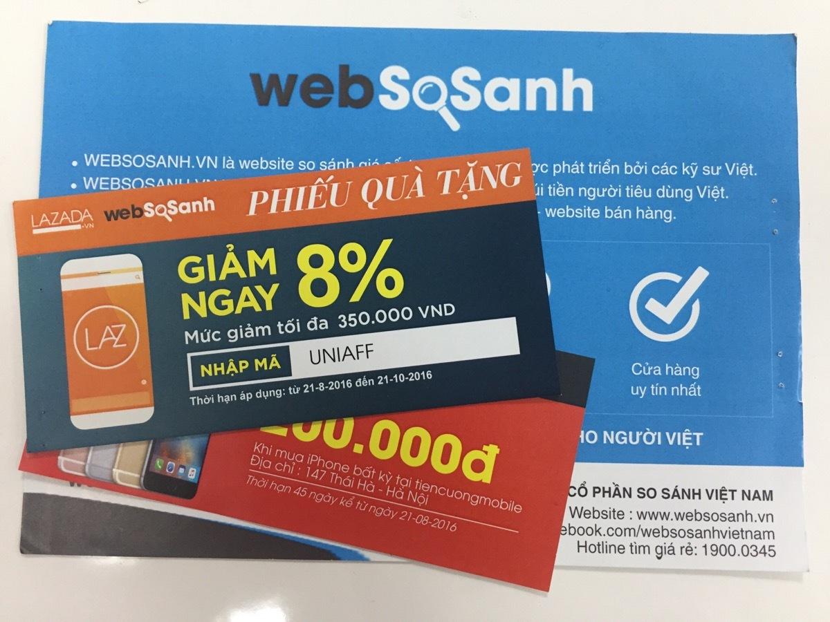 Đến Chuyến Xe Khởi Nghiệp II để nhận Voucher từ thương hiệu nổi tiếng tại gian hàng Websosanh