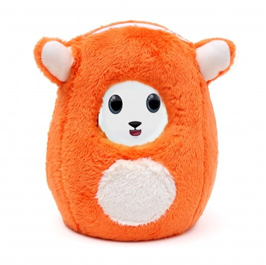 Ubooly uses your smart device as its brain and engages kids with updated content