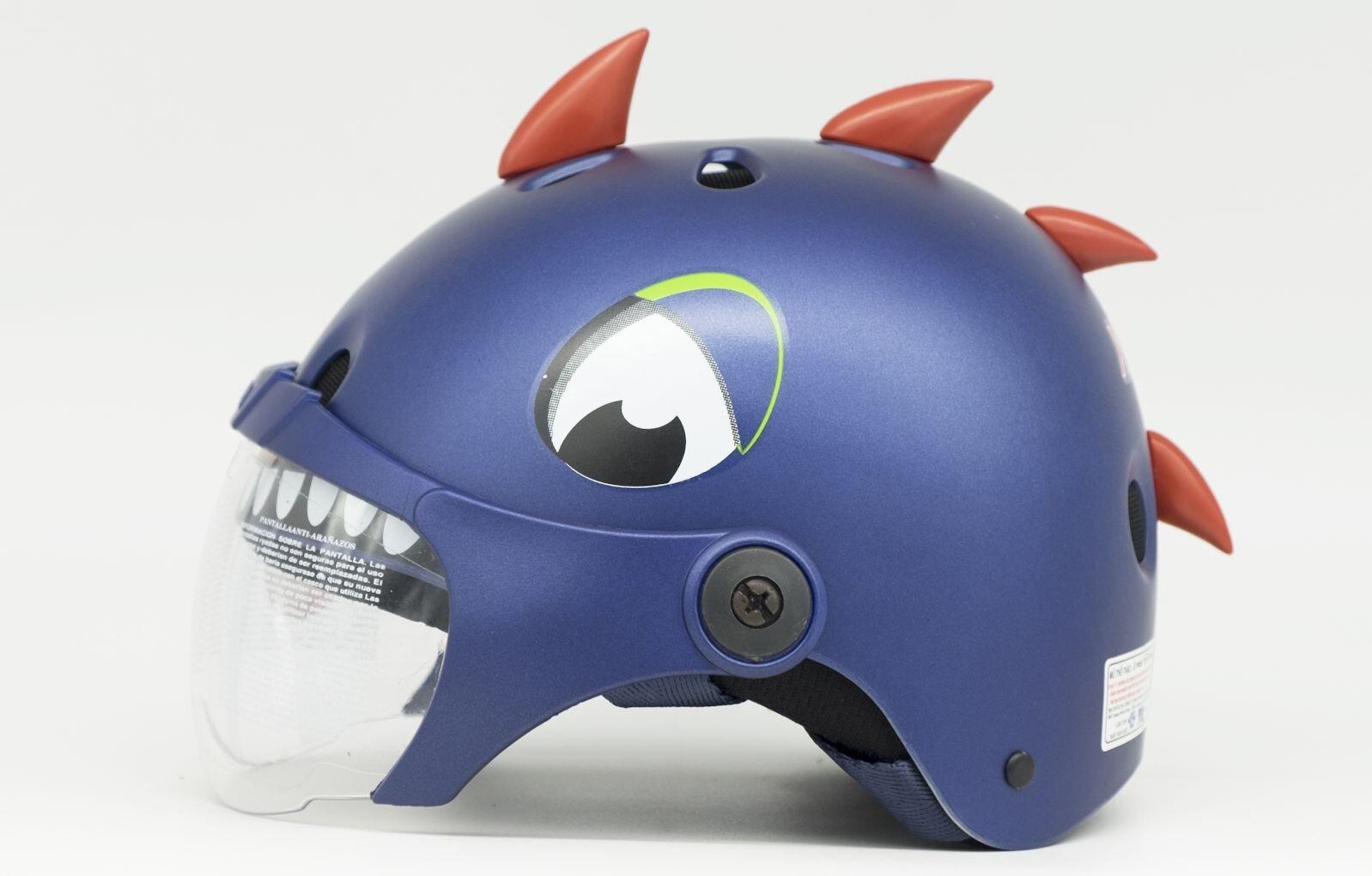 Mũ bảo hiểm thể thao trẻ em XPro X100 hình khủng long hoạ tiết ngỗ nghĩnh, đáng yêu bắt mắt