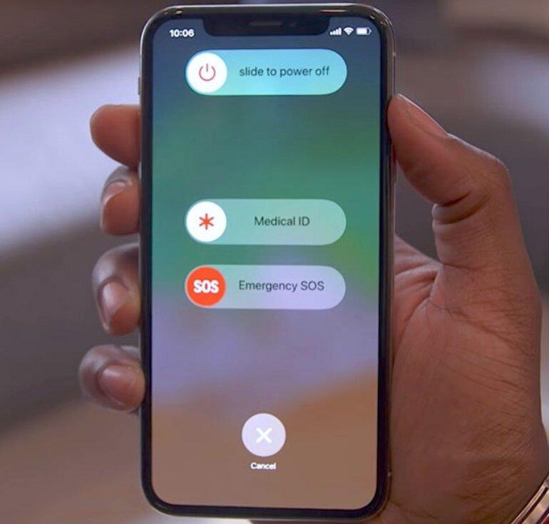 Tắt nguồn iPhone và khởi động lại để sửa lỗi No Service