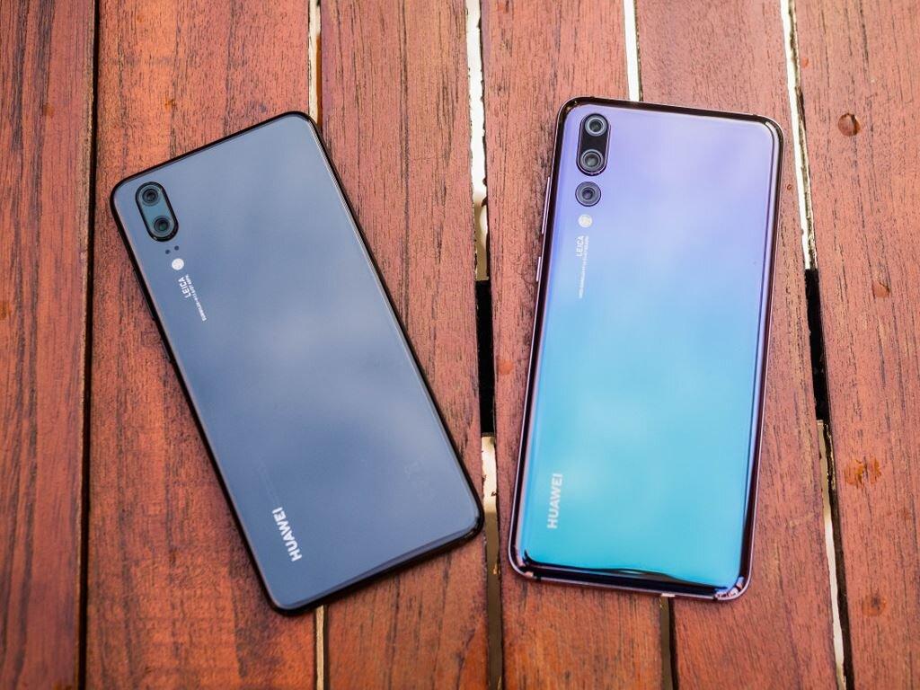 Cận cảnh Huawei P20 và Huawei P20 Pro