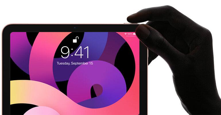 khóa vân tay iPad Air