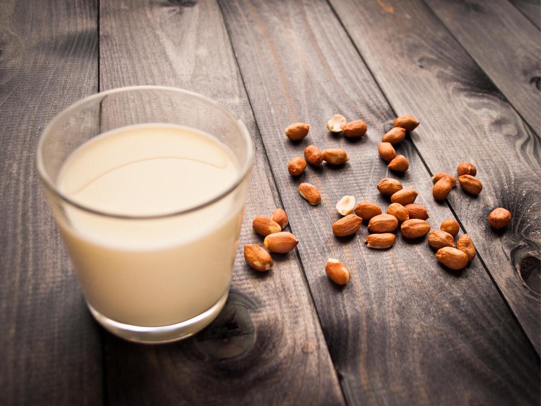 Sữa bí đỏ đậu phộng