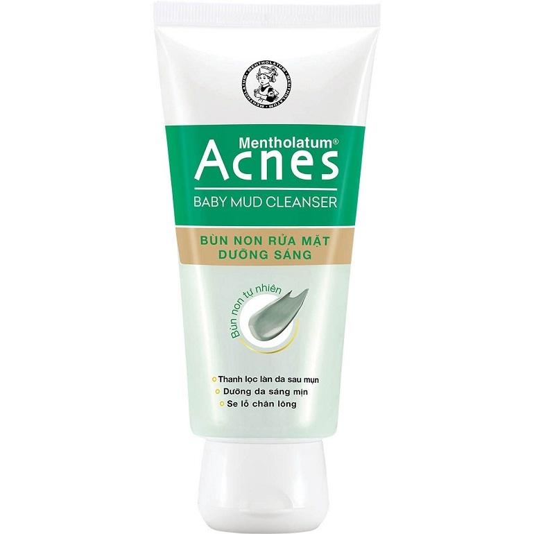 Sữa rửa mặt acnes Baby Mud