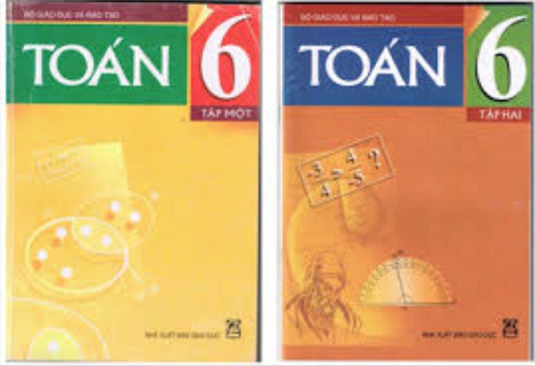Sách giáo khoa toán 6 tập 2 có mức độ phân hóa rõ rệt