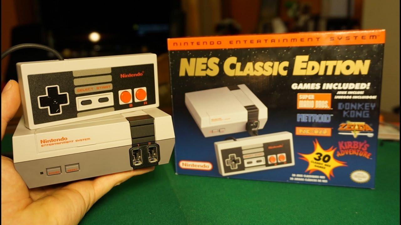 Máy chơi game Nintendo Nes Classic kỷ niệm của rất nhiều người
