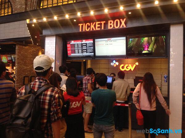 Tại Tp Hồ Chí Minh xem phim là một trong những hình thức giải trí được người dân rất yêu thích