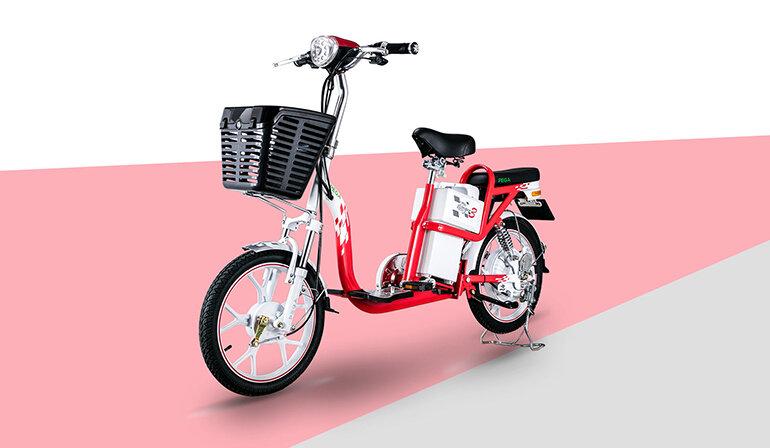 Xe đạp điện HKbike Zinger Color màu sắc trẻ trung, thiết kế năng động