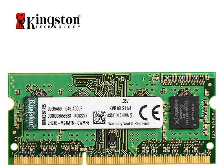RAM Laptop Kingston 4GB 1600MHz DDR3