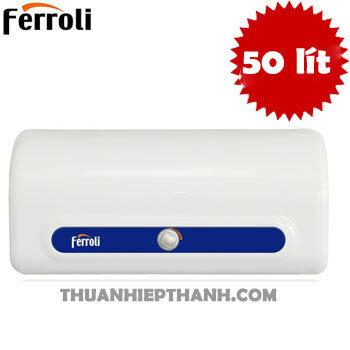 Bình tắm nóng lạnh gián tiếp Ferroli QQ EVO TE - 50 lít