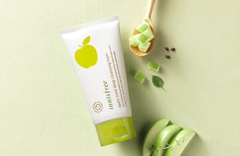 Giới thiệu sơ lược về sữa rửa mặt Innisfree táo