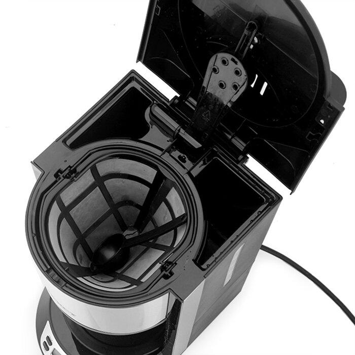 Máy pha cà phê sử dụng đơn giản và có giá thành phải chăng
