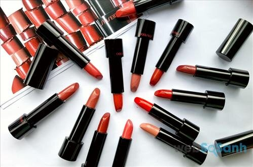 Những cây son Shiseido Rouge Rouge đầy sang chảnh