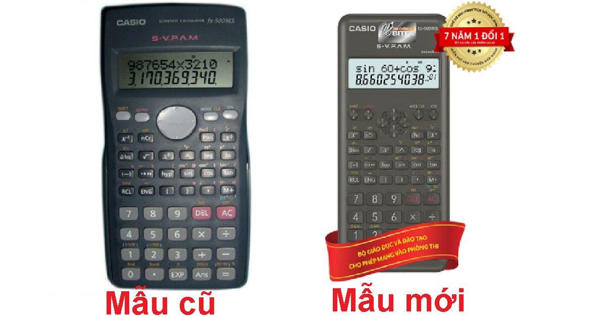 Review máy tính Casio FX 500MS có tốt không? Giá bao nhiêu?